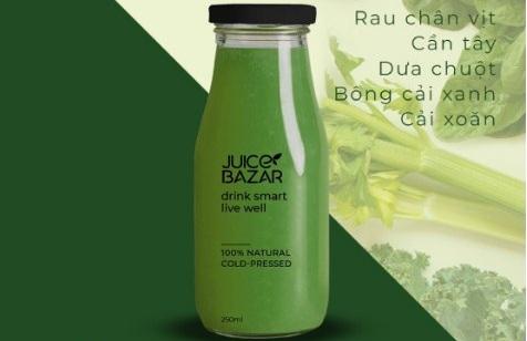 zalo official account cửa hàng juice Bazar
