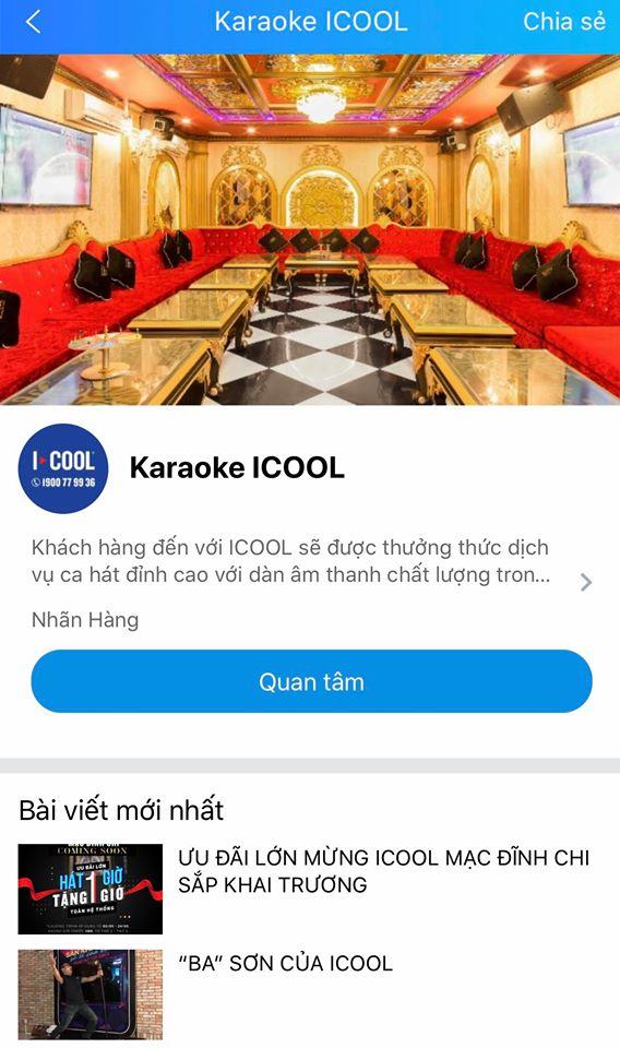 zalo oa cửa hàng icool