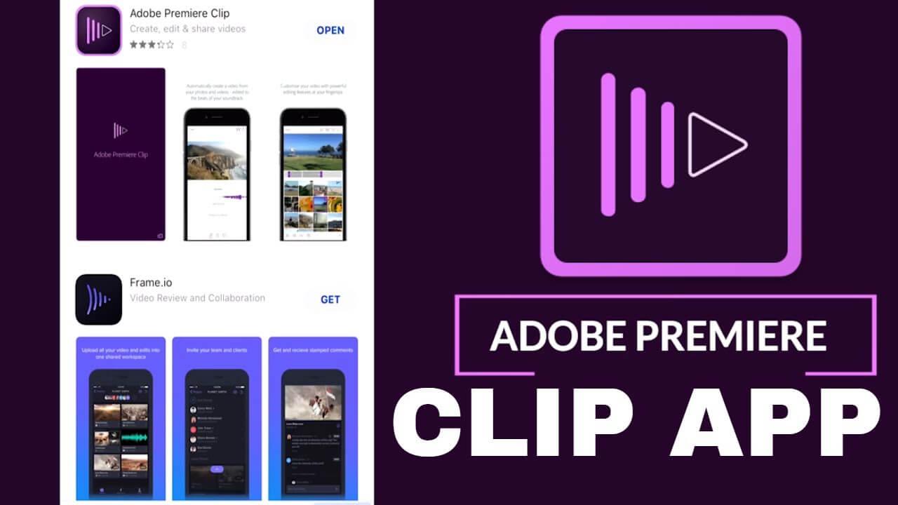 tạo video quảng cáo trên điện thoại với Adobe Premiere Clip